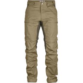 Fjällräven Abisko Lite Trekking Spodnie Mężczyźni beżowy